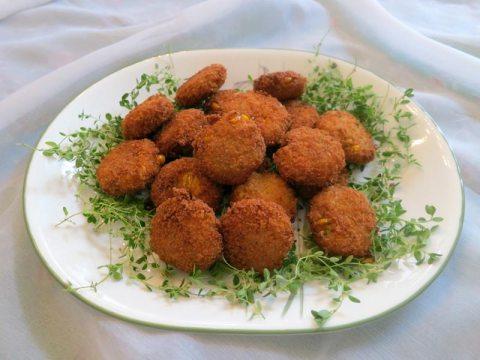 Spicy Corn Patties Recipe by Nibedita