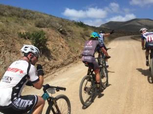 Ryan Steers Eric Bostrom Daniel Munoz Dave Zabriskie Ryan Casey Catalina Gran Fondo 2016 Ride Biker