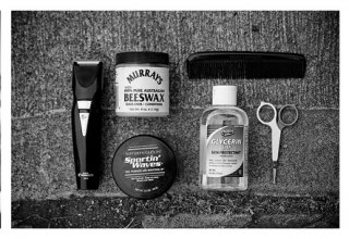Beard balm - beard wax - beard trimmer