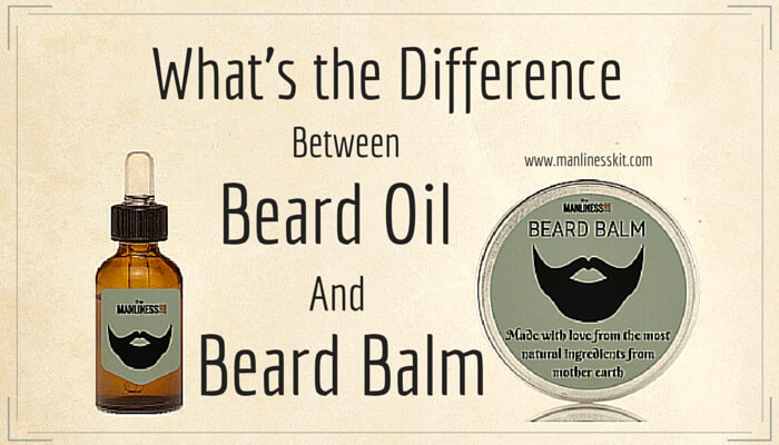What Are The Differences Between Beard Oil And Beard Balm