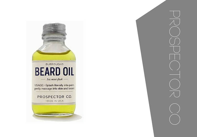 Best beard oil - Prospector co beard oil.