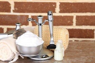 The best shaving set with razor, boal and shaving brush