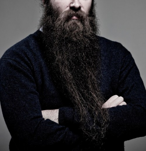 Long beard requires more maintenance. Use beard care products to maintain it soft and healthy