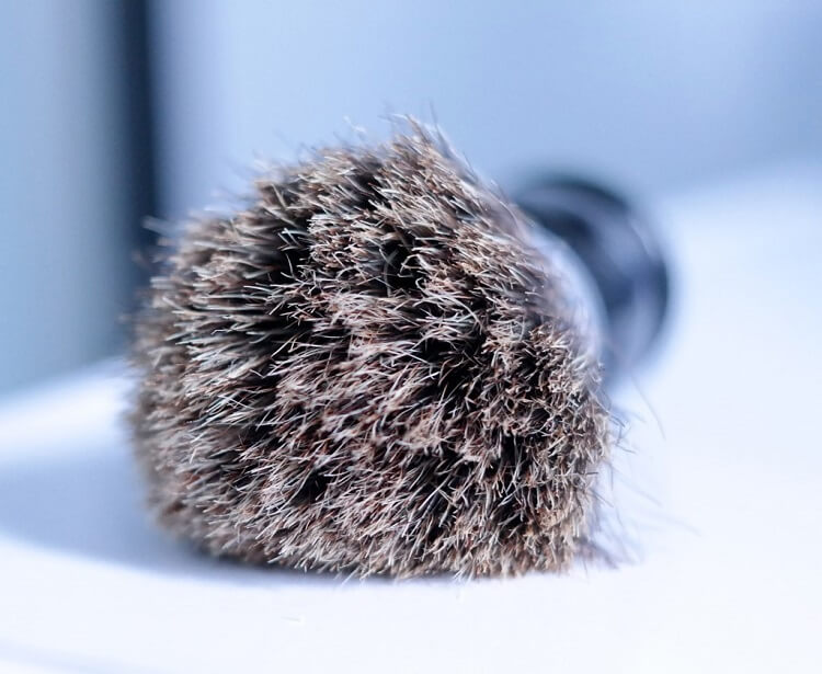 Learn how to lather with a shaving brush properly and maintain it