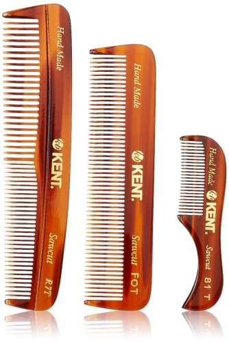 The best beard comb from Kent with a 3 piece combo