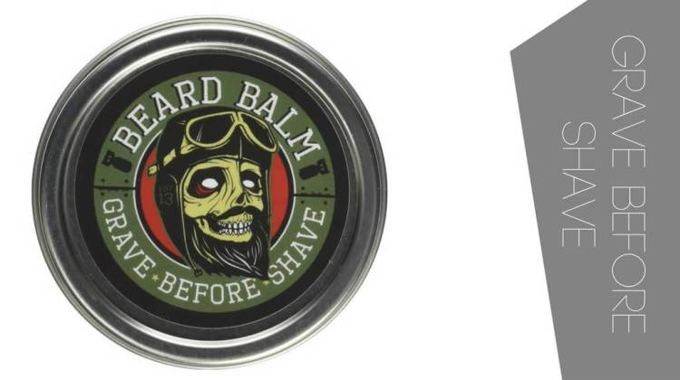best smelling beard balm is the Grave Before Shave hands down