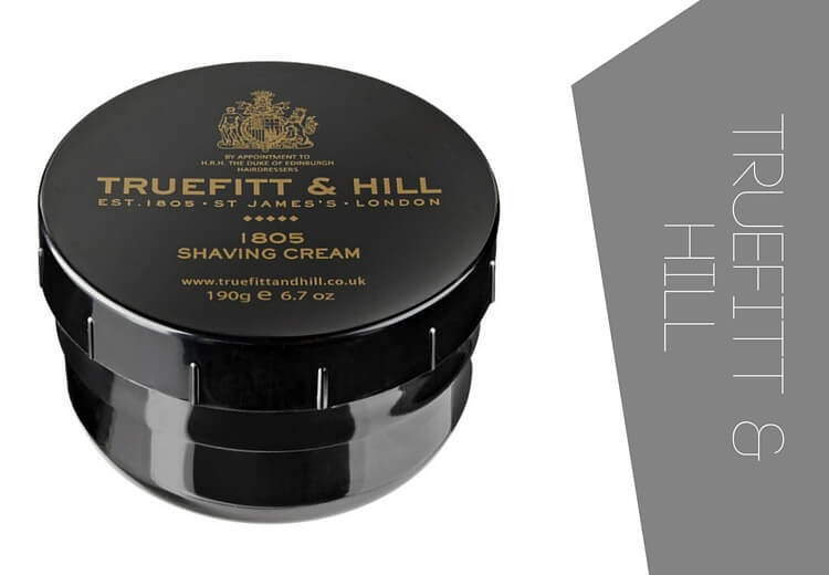 Premium shaving cream by Truefitt and Hill