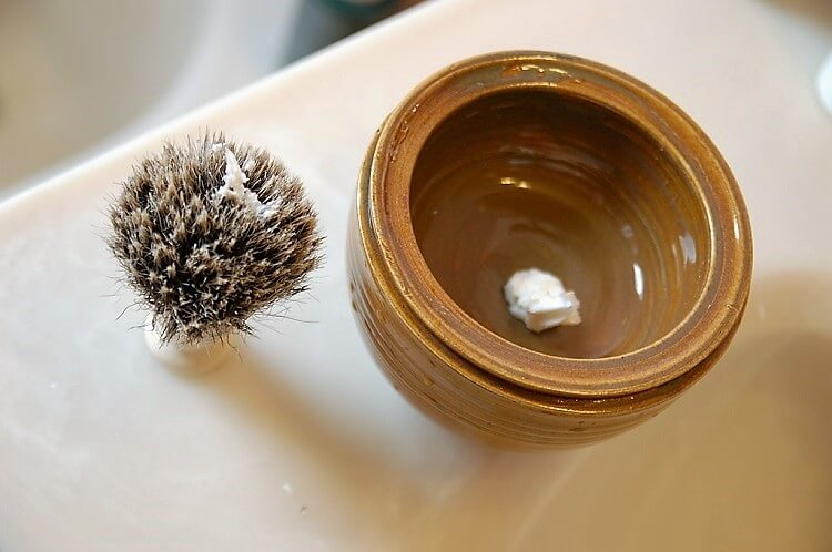 The best shaving cream lathered with a badger shaving brush
