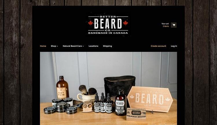 better beard co company eshop