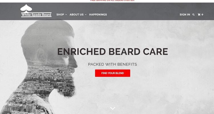 whitespade beard company eshop