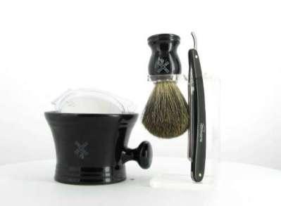 Apothecary Shave Set - Straight Razor