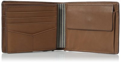 Fossil Men's Knox Large Coin-Pocket Bifold Wallet