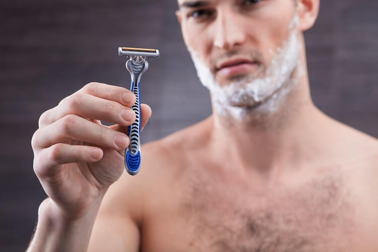 Get a better razor to get rid of razor bumps and ingrown hair