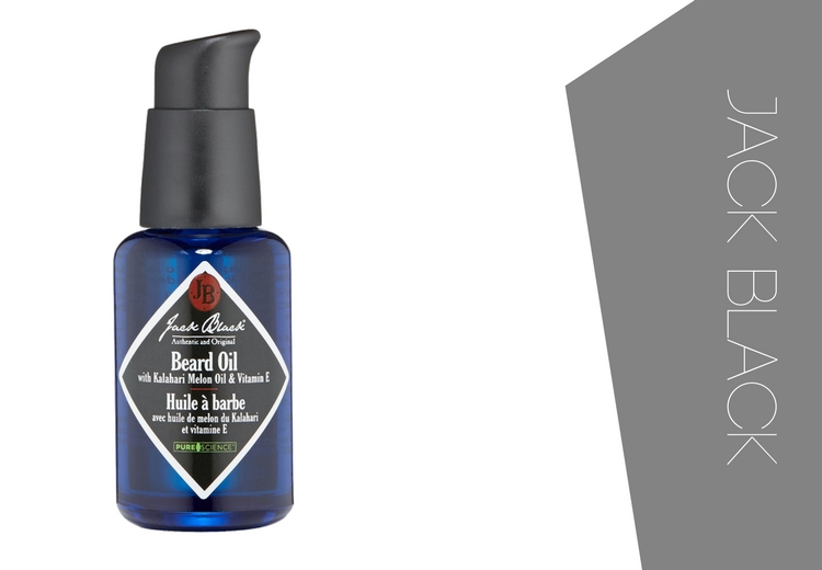 JACK BLACK Beard Oil - Organic and all natural