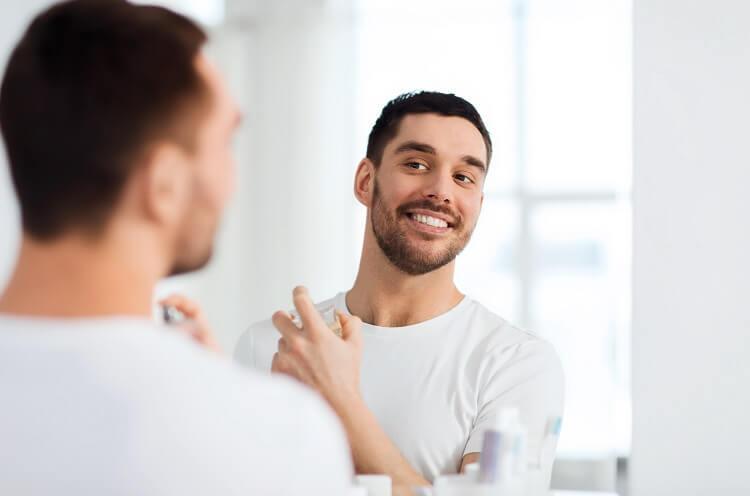 Mens perfume is essential in male grooming routine