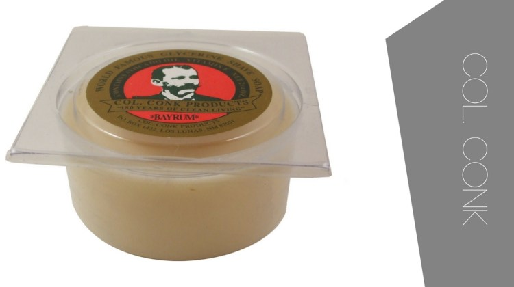 Best shaving soaps. For Sensitive skin and for experienced wet shavers - Col. Conk shaving soap