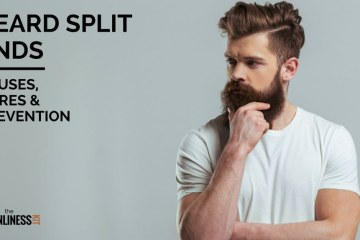 How to cure beard split ends how to prevent them from appearing and what causes them