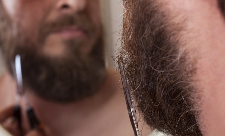 Trim your beard when you want to go to a serious meeting. Very long beards don't look as professional as you might think