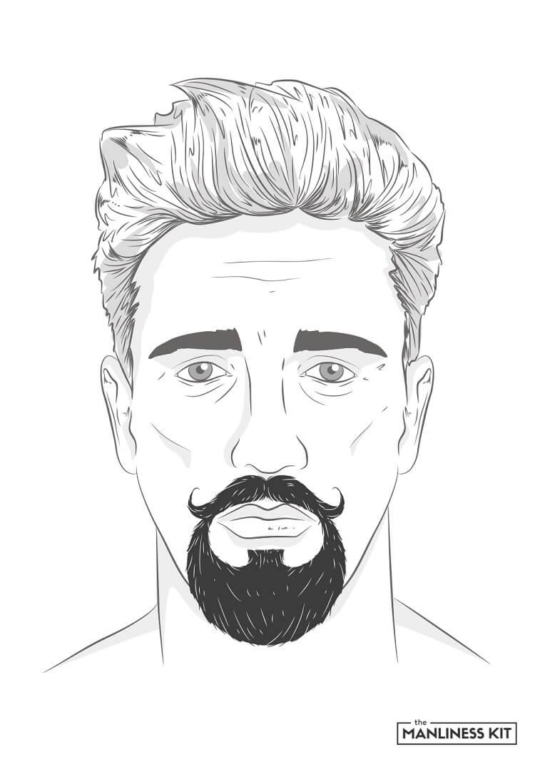 the dude beard style