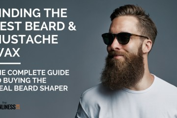 Best beard wax for men with sculpted beard and handlebar mustaches