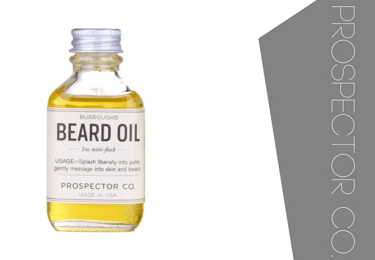 Prospector Co Burroughs Beard Oil Review