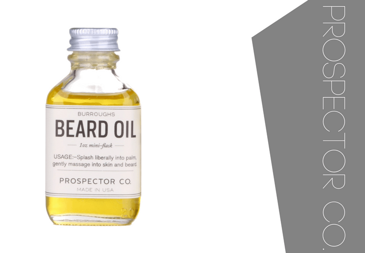 Prospector Co Burroughs Beard Oil Review