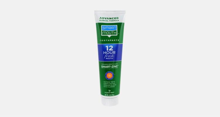 Smart Mouth Toothpaste. A top toothpaste for bad breath with 12 hours guaranteed action