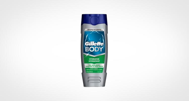 Gillette shower gel for men