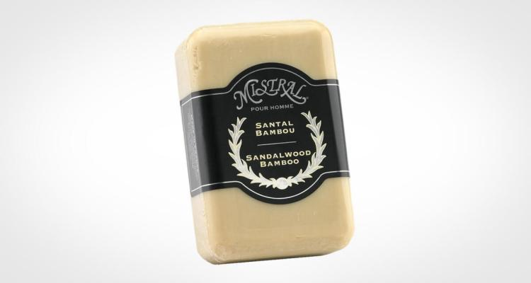 Mistral Bar Soap for men Sandalwood and bamboo
