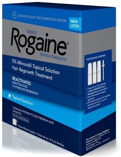 Rogaine minoxidil for beard growth