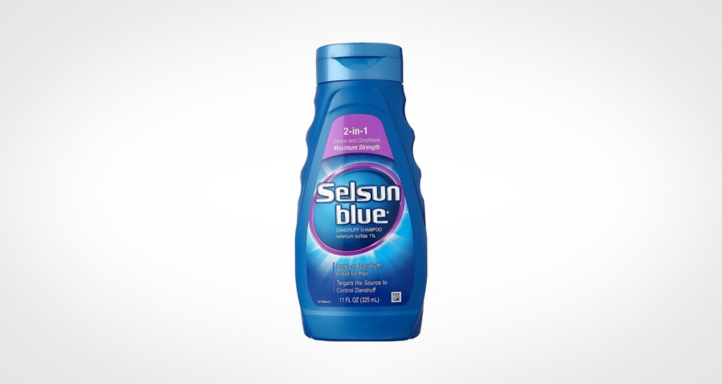 Selsun Blue Medicated Dandruff Shampoo Conditioner 2-in-1 Treatment