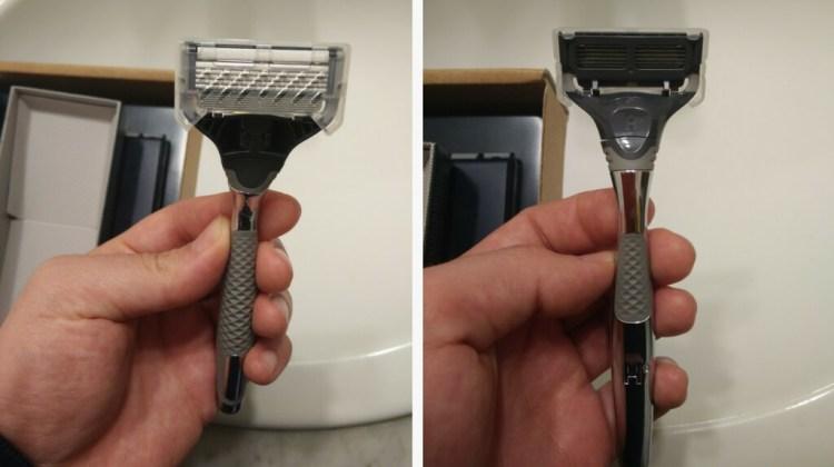 Cartridge razor blades protection - Harrys razor