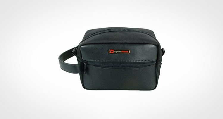 Alpine Swiss Hudson Travel Dopp Kit