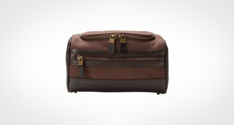 Robert Graham Men's Rago Canvas Dopp Kit