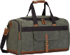 S-Zone Canvas Leather gym bag for men
