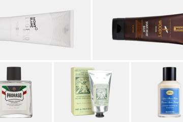 Best aftershave balms for men