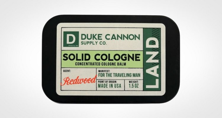 Duke Cannon Solid Cologne for men