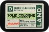 Duke cannon solid fragrance for men