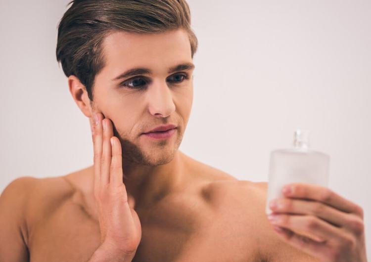 How to use aftershave