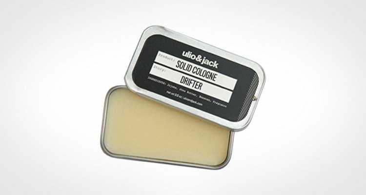 Ulio and Jack solid cologne for men