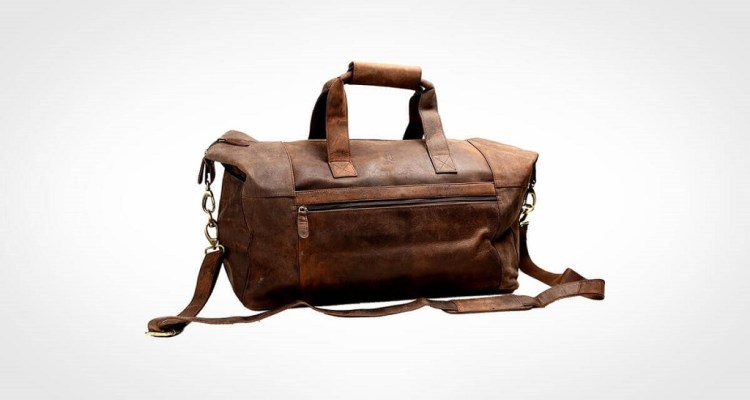 Cuero 21 Inch Vintage Leather Duffel for men