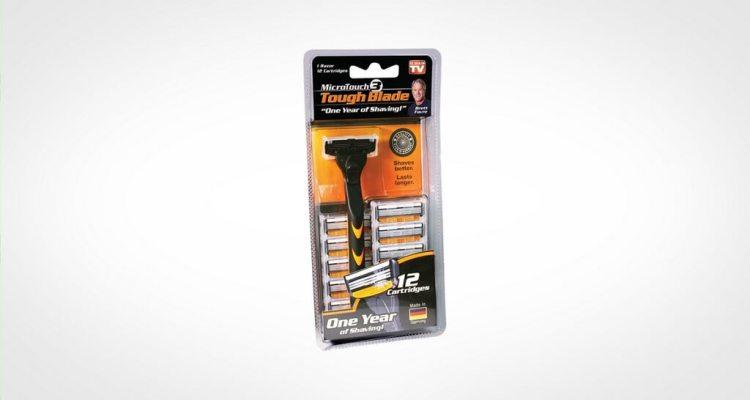 MicroTouch TOUGH BLADE cartridge razor
