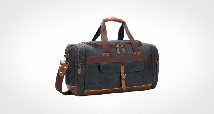 BLUBOON Canvas Travel Duffel Bag