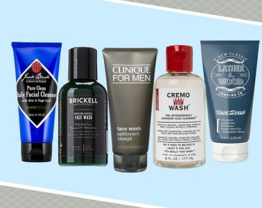 Best face washes for men