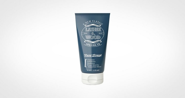 Lather and Wood face wash for men