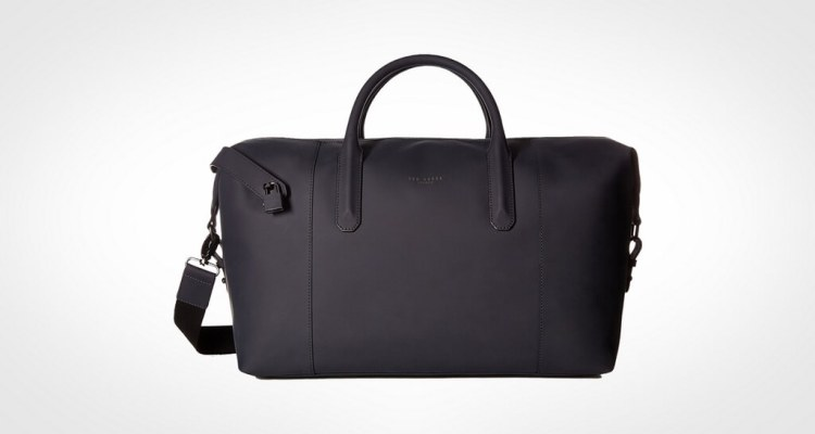 Ted Baker Men's Cronos Luxury Leather Holdall
