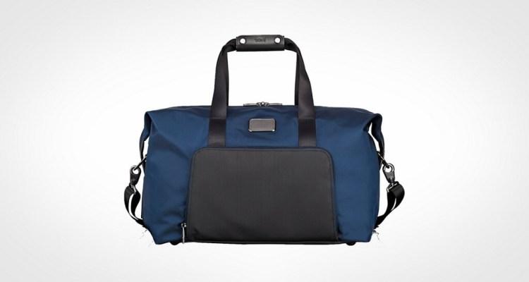 Tumi Alpha 2 Double Expansion Travel Satchel Duffel Bag