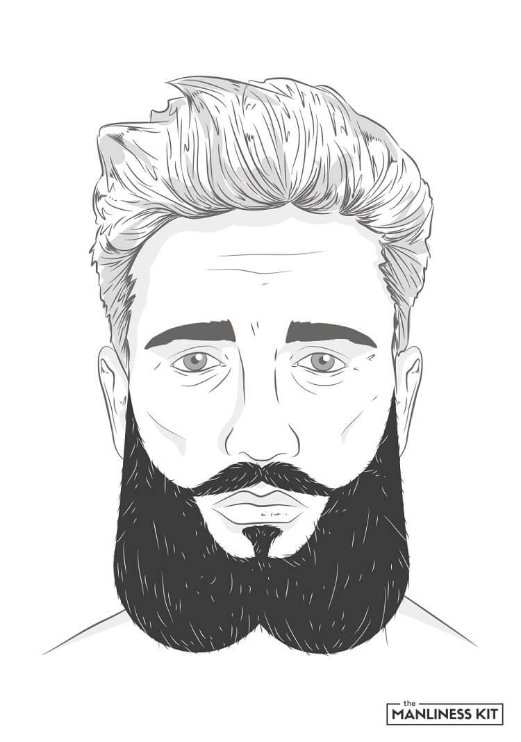 siamese beards