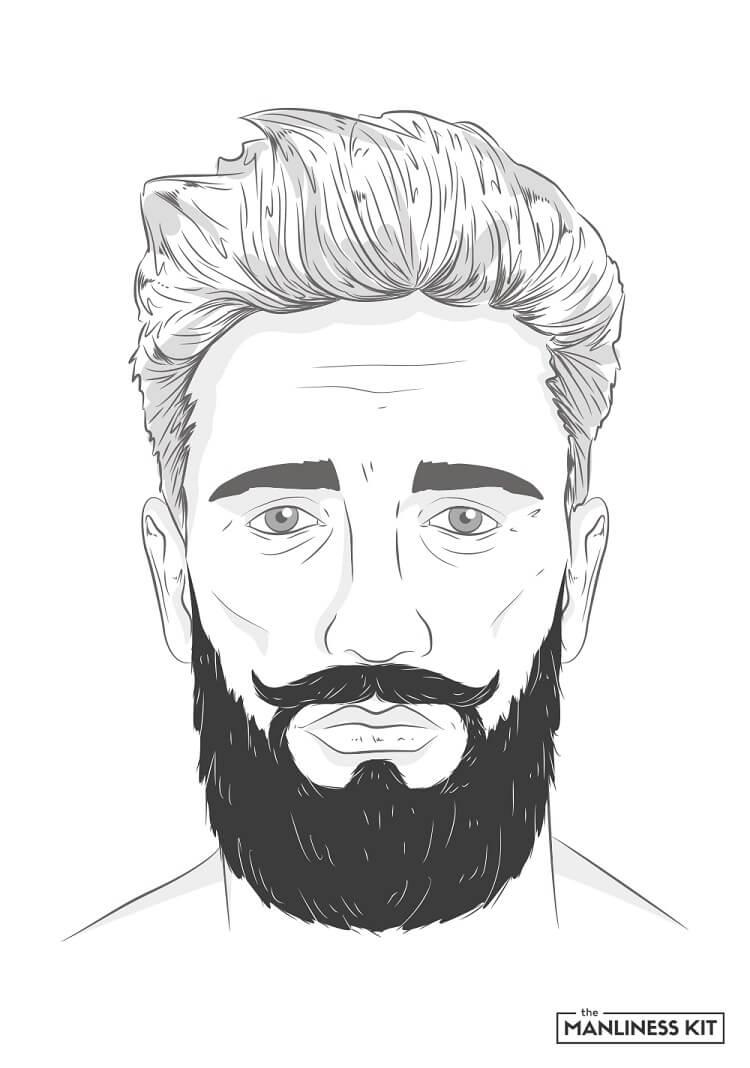 verdi long beard style
