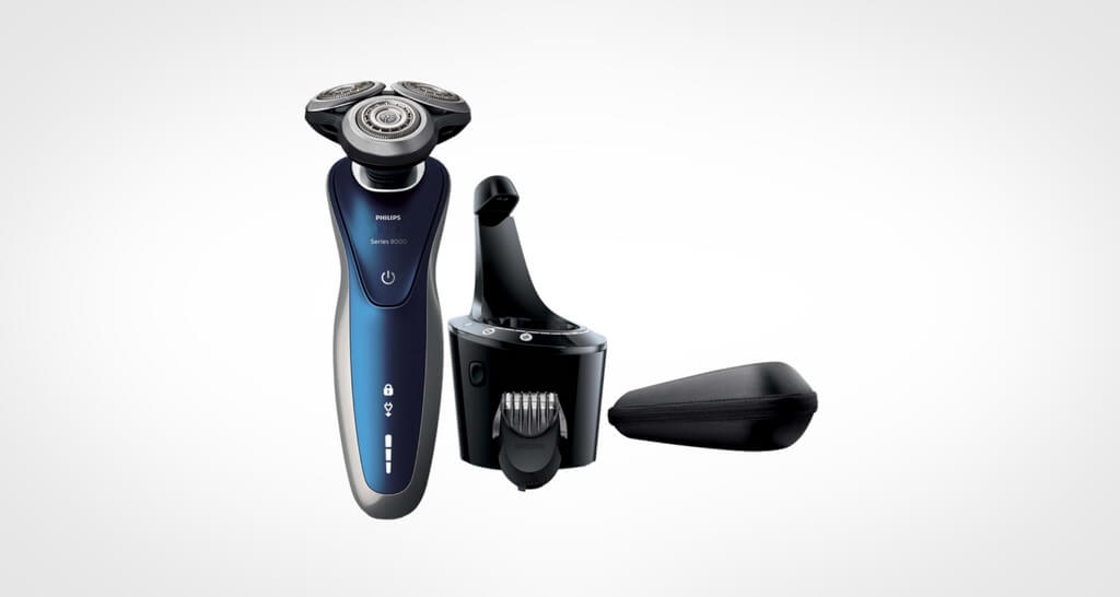 Philips Norelco Electric Shaver 8900 with SmartClean